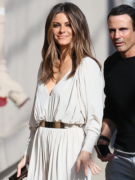 Maria Menounos Shows Off Massive Engagement Sparkler as She Appears on Jimmy Kimmel Live!| Engagements, Jimmy Kimmel Live, Howard Stern, Jimmy Kimmel, Maria Menounos