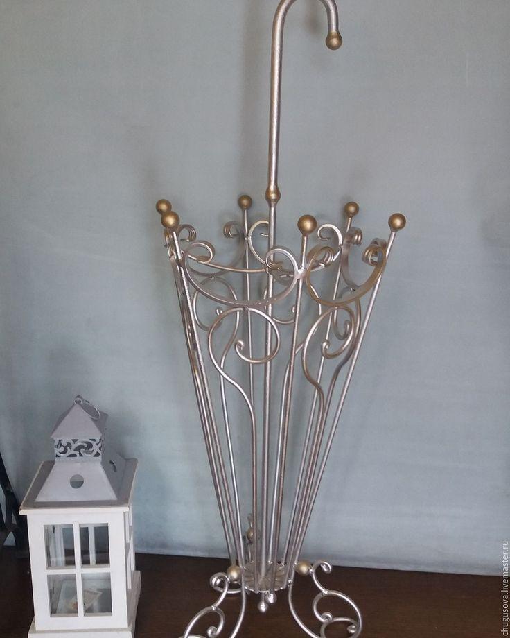 Купить Зонтница Винтаж - подставка для зонтов, зонт с росписью, зонт, зонтница, кованые изделия