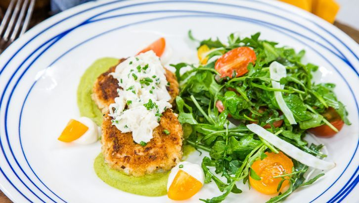 Chef Govind Armstrong Vegan Crab Cakes Recipe In 2020 With