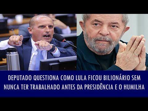 veja vídeo ' link  Ele (Lula) nao e e nunca foi um estadista .  Ele e apenas um traficante de influencia, mesquinho, egoista e indigno de ser olhado com respeito pelo brasileiro (Onyx Lorenzoni)  http://veja.abril.com.br/blog/reinaldo/geral/cunha-tem-de-decidir-nesta-semana-se-aceita-ou-nao-a-denuncia-contra-dilma/