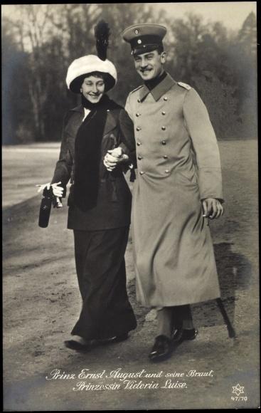 Ernst August and Viktoria Luise