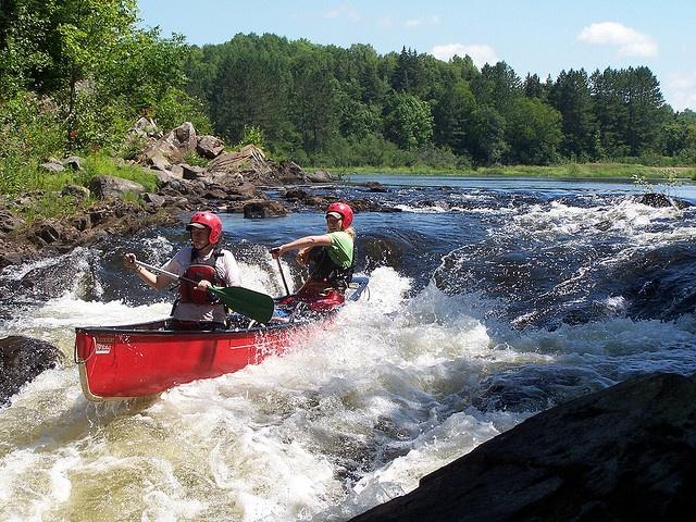 Whitewater Canoe Trip - Magnetawan River