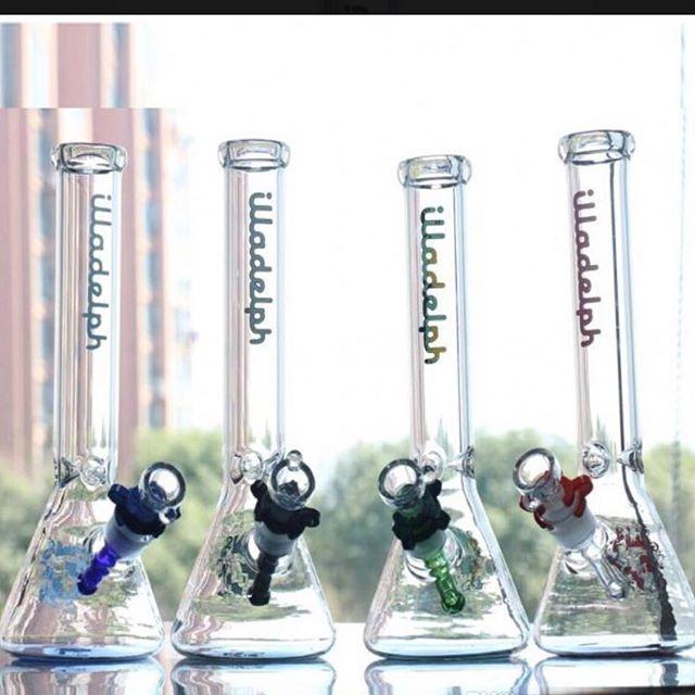 10.6inch Illadelph Beaker Glass Bong Joint 14.4mm  .  Free Shipping Worldwide  .  Dm us for best price  .  .  #weedkl #bong #glassbongs #stoned #assurrr #banitenang #weed #cannabis #maryjane #marijuana    #Regram via @weedkl)