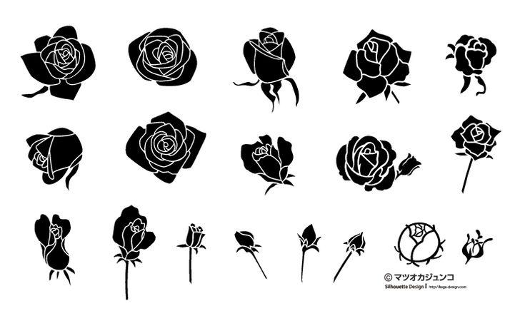 002mj rose1 450x266 バレンタインカードのデザインに!バラのベクターイラスト素材まとめ(AI・EPS)   Free Style