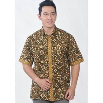 Dunia Fashion - Baju Batik Pria 2063.beli min 2 pcs GRATIS ONGKIR