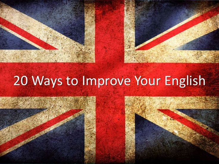 Improve your english easy and fast