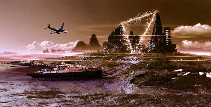 Gangguan Peralatan Kapal dan Pesawat di segitiga bermuda