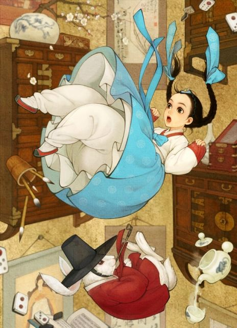 kimono Japanese alice in wonderland cutie by obsidian24 mangaka This is one amassing alice in wonderland anime wallpapers. They where all made by wonderful mangaka artist. I am certain you will like this lil anime pictures a lot. Lets just more right alon