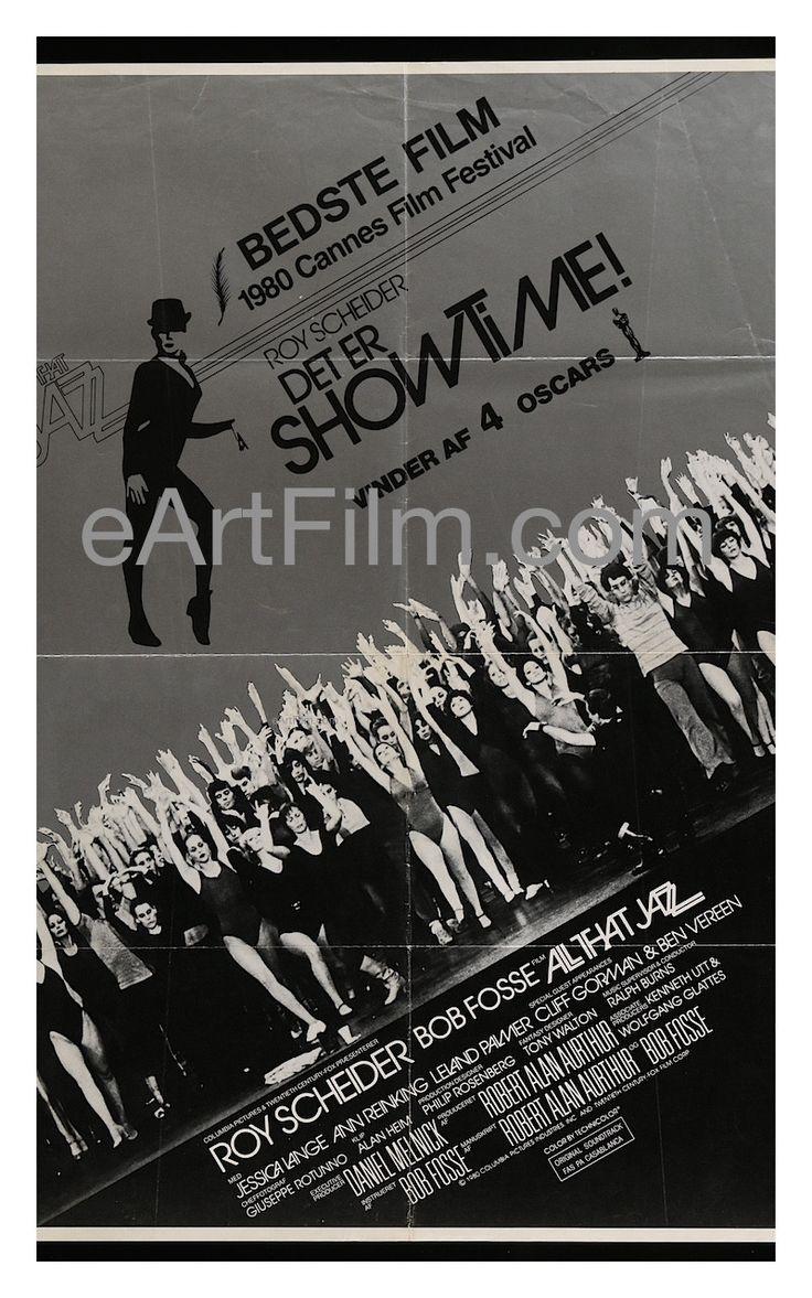 All that Jazz Roy Scheider cult musical movie poster print