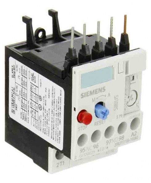 Brand-Siemens,kw-1.1, Type-Thermal Overload, Pole-3, Rated Current(A)-3.2, Number Of Contacts-1 NO+1 NC, Minimum Current (A)-2.2, Switching Output-250 VAC 50/60 Hz, Mounting-Direct, Supply Voltage-690 V, Warranty-As per manufacturer's warranty policy.