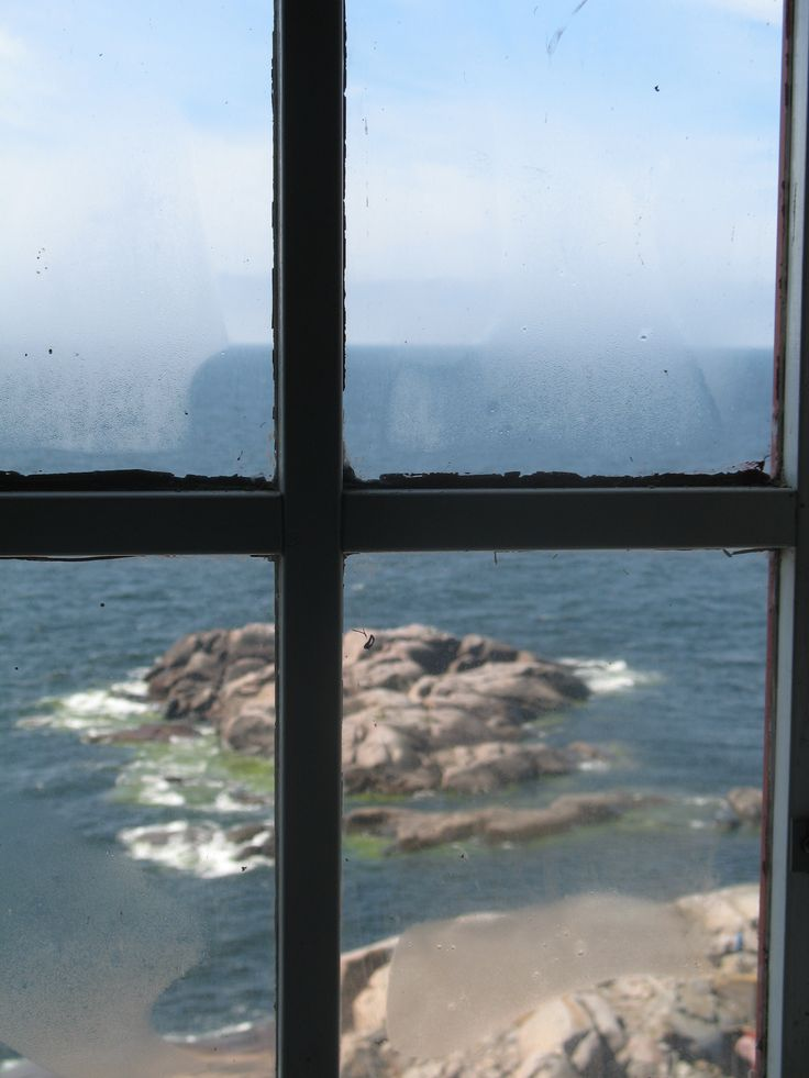 Lighthouse window, Bengtskär Finland Photo Pirjo Pesonen