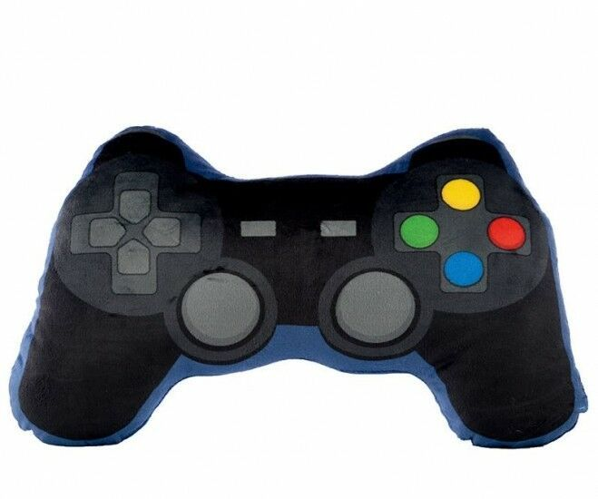 Plush Playstation Controller Style Cushion Games Console Toy