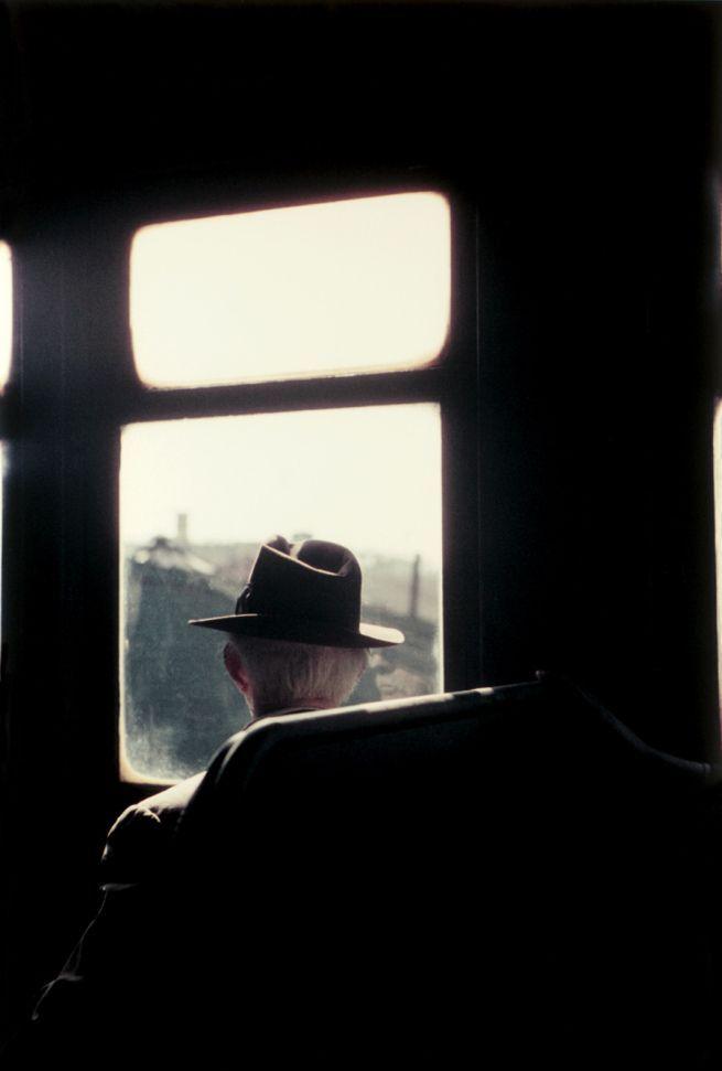 Saul Leiter. Kutztown (1948).