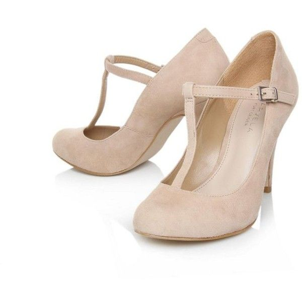 Classic Nude Heels- Nude Antigua High Heel Shoes - Carvela - Polyvore