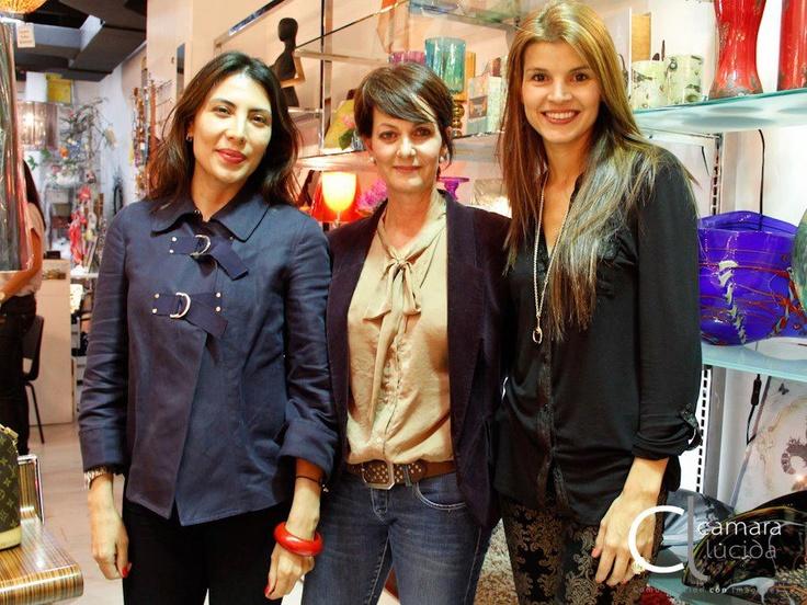 Andrea Perez, Eulalia Piedrahita y Tala Restrepo