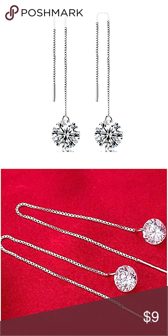 *COMING SOON* Crystal Drop Earrings NWT Crystal Drop earrings, NWT, stunning as they catch the light! Jewelry Earrings