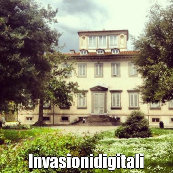 #invasionidigitali #Lucca #VillaBottini