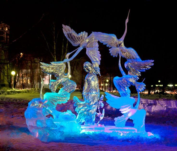 Фестивали снежных и ледовых скульптур в России » Женский Мир