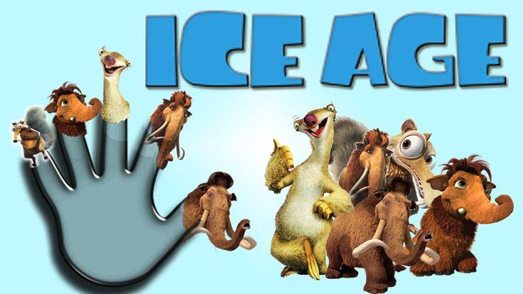 Finger Family Song of ICE AGE | Finger Family Nursery Rhymes for Children