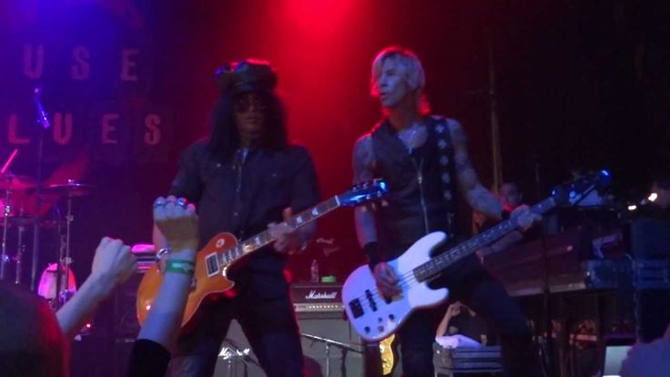 Velvet Revolver performing Slither at HOB Hollywood as part of the Benefit for John O'Brien 1/12/12
