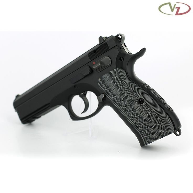 CZ 75 Palm Swell Tactical Diamonds Black Gray G10