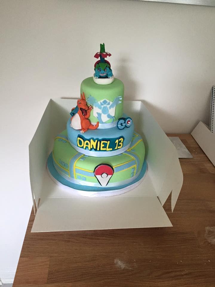 Pokemon Go Paintball Themed Cake Wicked Happy Birthday