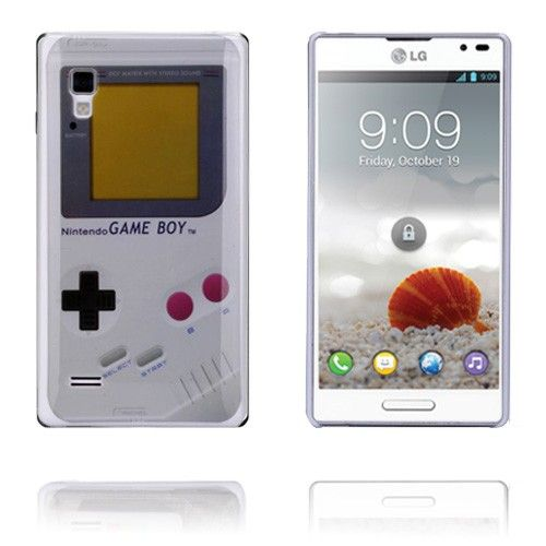 GameBoy (Hvid) LG Optimus L9 Cover