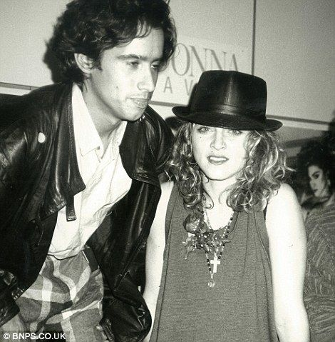 John 'Jellybean' Benitez and Madonna, http://www.dailymail.co.uk/news/article-2402107/Andy-Warhols-intimate-seen-photos-Mick-Jagger-John-Lennon-Madonna-show.html