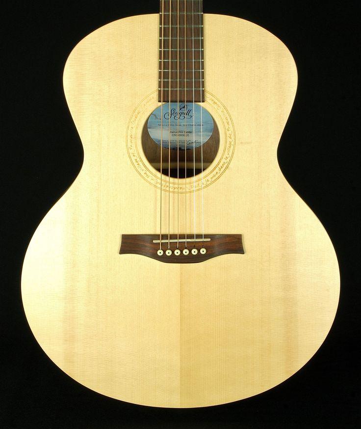Seagull Guitars Excursion Walnut Mini Jumbo SG Acoustic Guitar