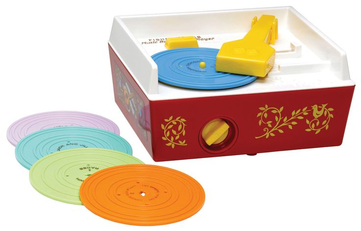 Fisher Price vintage turntable | coolest birthday gifts for 2 year olds