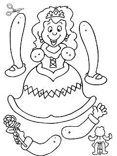 Gwendoline / pantin princesse