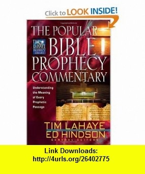 8 best ebooks pdf images on pinterest pdf author and sign writer the popular bible prophecy commentary understanding the meaning of every prophetic passage tim lahaye prophecy librarytm 9780736916905 steven ger fandeluxe Image collections