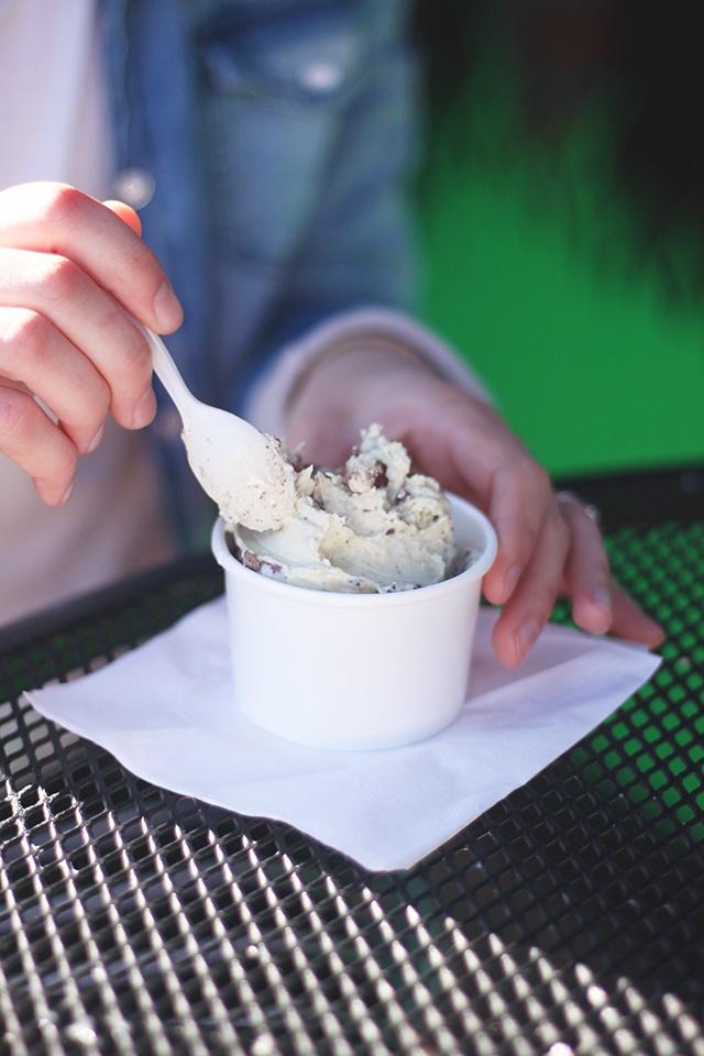 yummiest ice cream - a la minute ice cream (Redlands, CA)