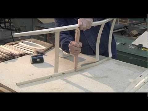 Making of 699 Superleggera, design Gio Ponti, Cassina - YouTube