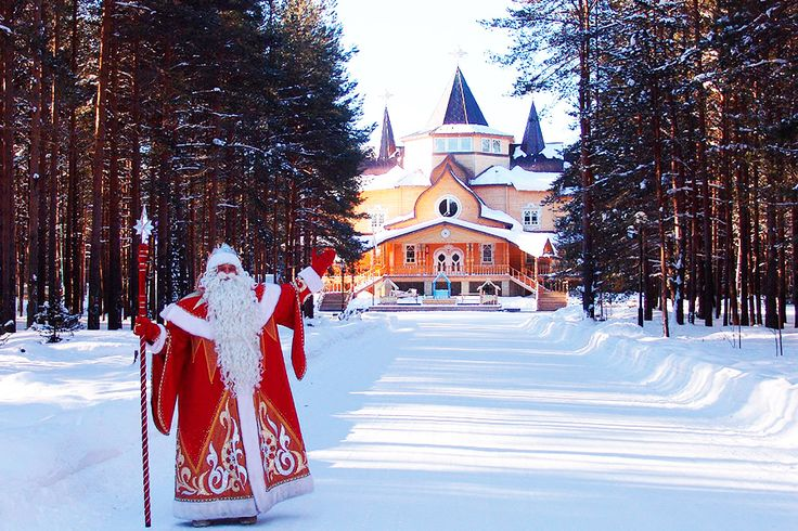 The Homeland of the Russian Santa Claus Great Ustug, New Year's Eve