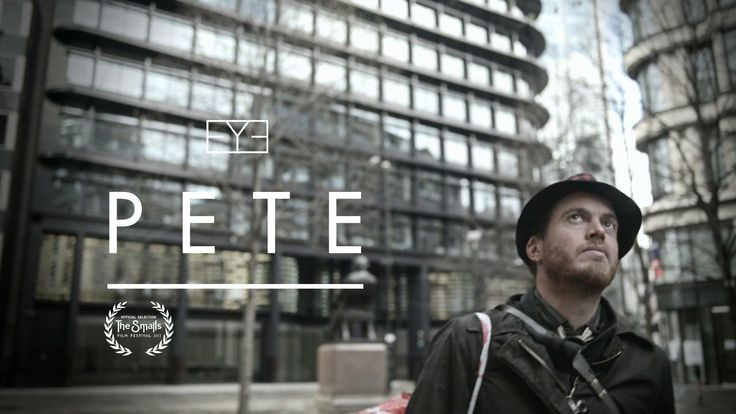 Pete. Pete explores ideas of space, time and social freedom, focussing on his experiences of squatting in empty commercial properties throughout the UK.