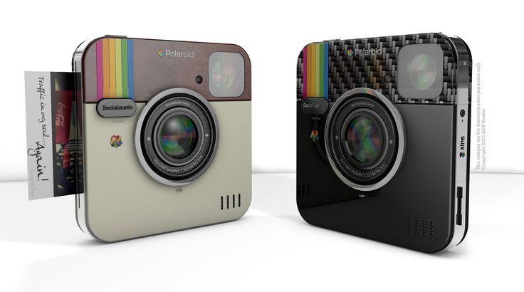 Socialmatic Poloroid camera w/ filters!!