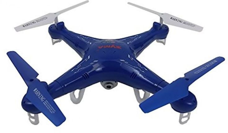RC Quadcopter Drone Syma X5C HD Camera Blue Design 2.4 Ghz 4 Channel 6 Axis Gift…
