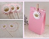 Items similar to Pink + Gold Party Birthday Package - Made to Order on Etsy