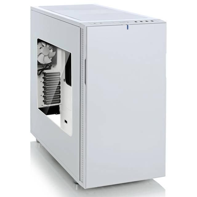 Fractal Design Define R5 No Power Supply ATX Mid Tower w- Window (White)