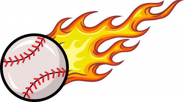 Baseball Ball Premium Vector Freepik Vector Background Sport Cartoon Red Baseball Balls Baseball Ball
