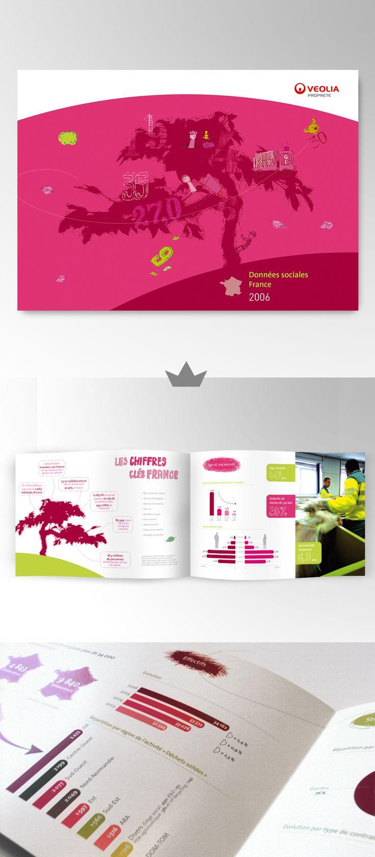VEOLIA - Rapport annuel 2006  (Données sociales - france)