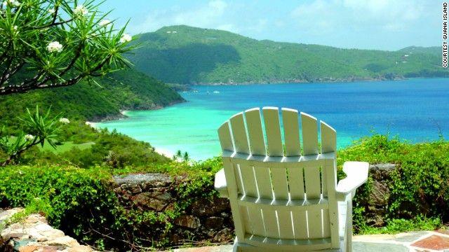 3.Guana Adası, Britanya Virjin Adaları 32 kişilik konaklama sunan adayı kiralamak isteyenlerin gecelik 22 bin doları gözden çıkarması gerekiyor.