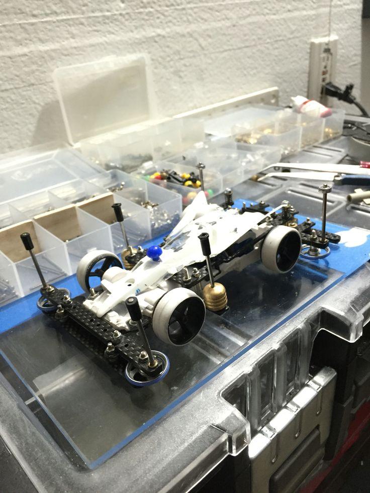 Tamiya 4wd mini body popup setup