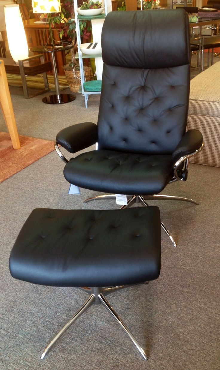 Stressless Metro Recliner Paloma Black. Available at Scanhome Furnishings in Green Bay. & 33 best Ekornes Stressless images on Pinterest   Green bay ... islam-shia.org
