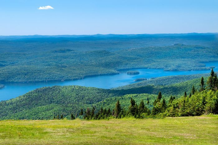 Summer At Mont Tremblant
