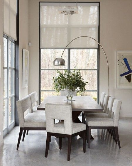 Parsons chair with a twist - room design by Julie Charbonneau