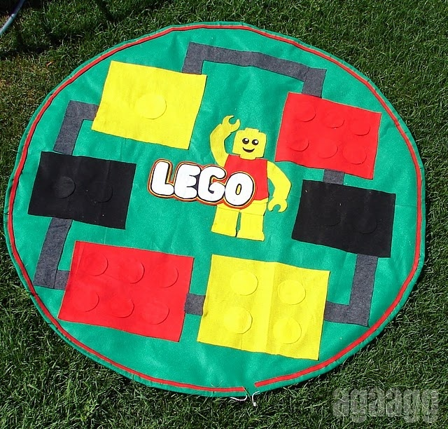18 Best Images About Lego/Toy Bag Tutorials On Pinterest