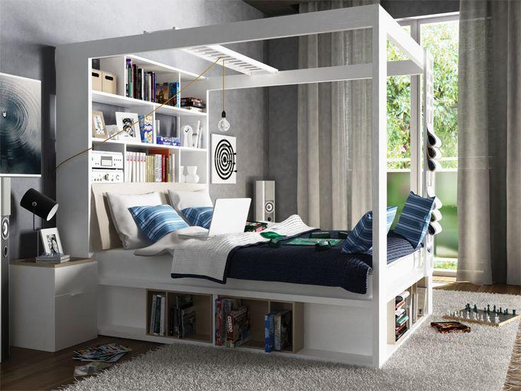 Posteľ s baldachýnom | nábytok VOX