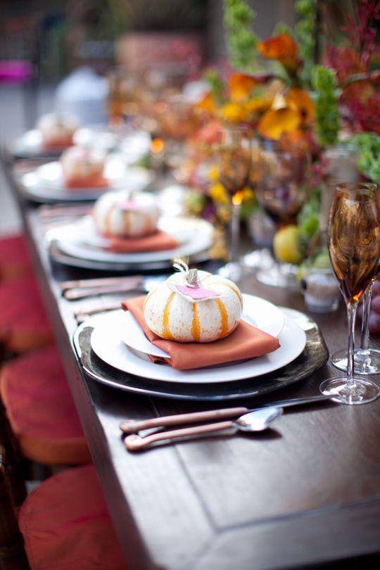fall dining: